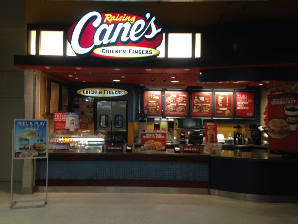 Canes Storefront